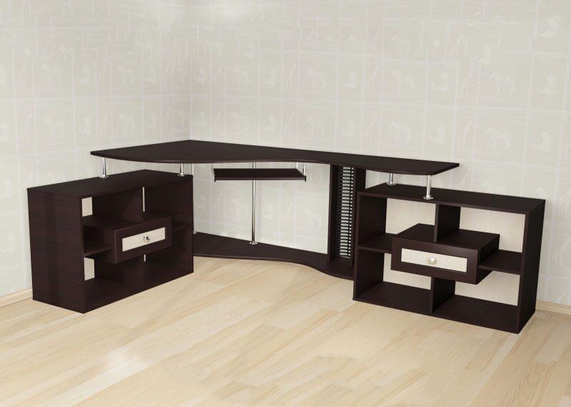 Стол для компьютера мебел 10.