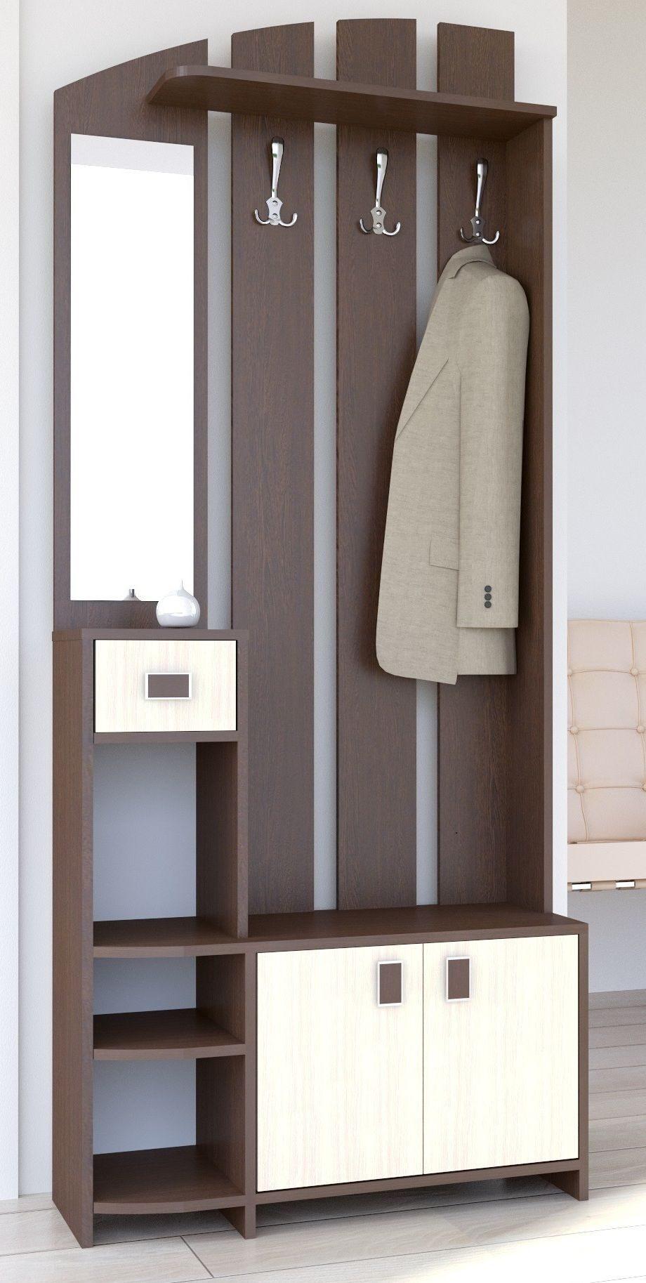 Маленькие прихожие -мебель для маленькой прихожей, дизайн, ф.