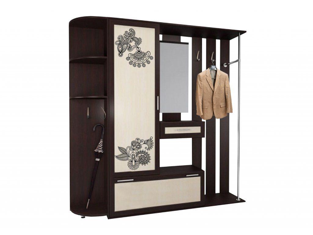 Прихожая жозефина-8 с рисунком / корпусная мебель / прихожие.
