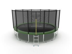 Батут EVO Jump External 16ft (зеленый)