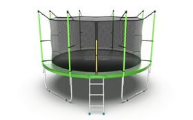Батут EVO Jump Internal 12ft (зеленый)