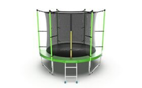 Батут EVO Jump Internal 8ft (зеленый)